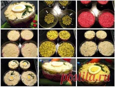 Салат «Простушка»  Ингредиенты: - 4 отварных свеклы - 4 варёных яйца Смотреть в источнике...