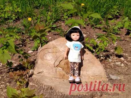 Туника для кукол Паола Рейна
