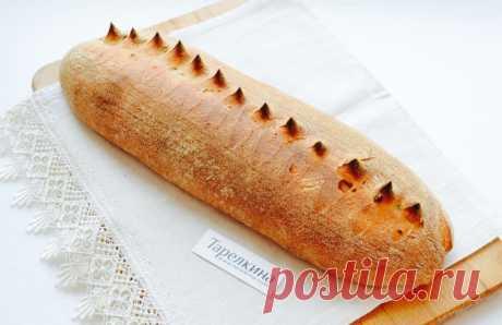 Серый хлеб рецепт от Тарелкиной