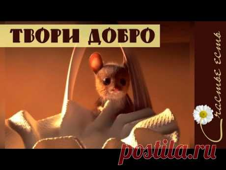 Добрый мультфильм о старике и мышке. Фильмы со смыслом. Счастье есть. Мудрые мысли. Смысл жизни. - YouTube