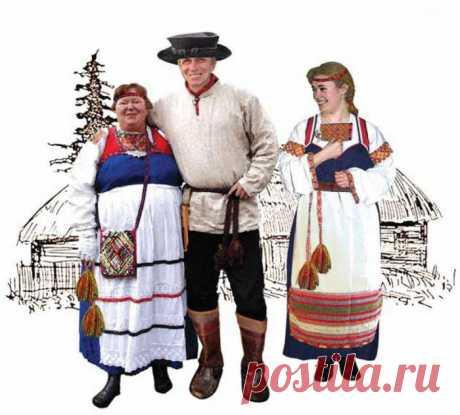 Картинки Национальный костюм карелов (23 фото) ⭐ Забавник