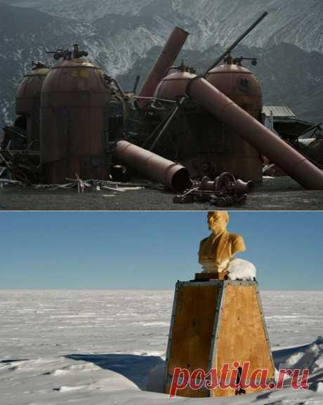(+1) тема - Семь заброшенных чудес Антарктиды | Занимательный журнал