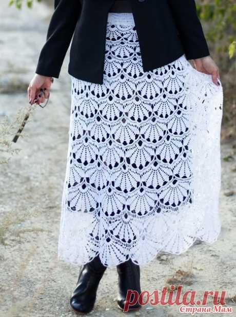 Юбка Забытая))) - Вязание - Страна Мам