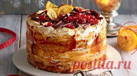 Простой торт без выпечки, пошаговый рецепт с фото