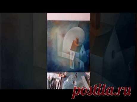 Oil painting by Eugene Ivanov in progress. 2019. Part 1. - YouTube