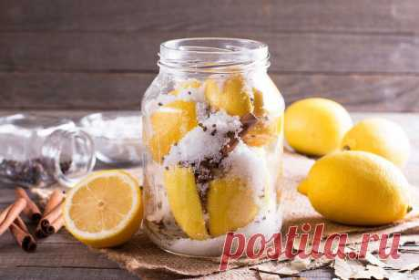 Солёные лимоны по-мароккански | Fresh.ru