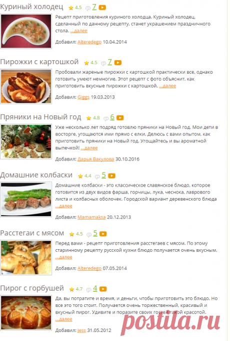 Традиционные рождественские блюда - рецепты с фото на Повар.ру (69 рецептов традиционных блюд на Рождество)