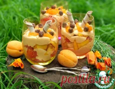 Творожно-фруктовый десерт – кулинарный рецепт