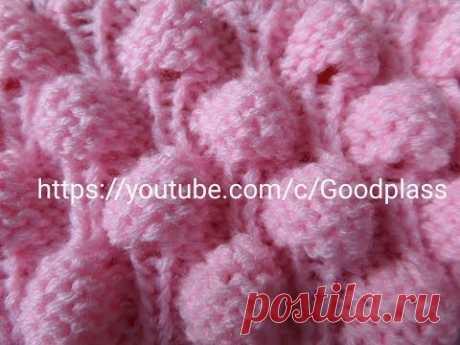 Volume pattern of the Malinka, Berry. Knitting by spokes. Knitting(Hobby).