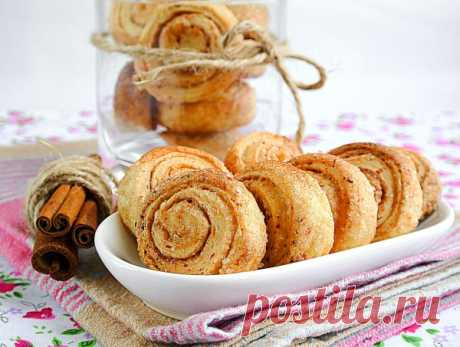 """Печенье из творога """"розочки"""" - пошаговый рецепт с фото"""