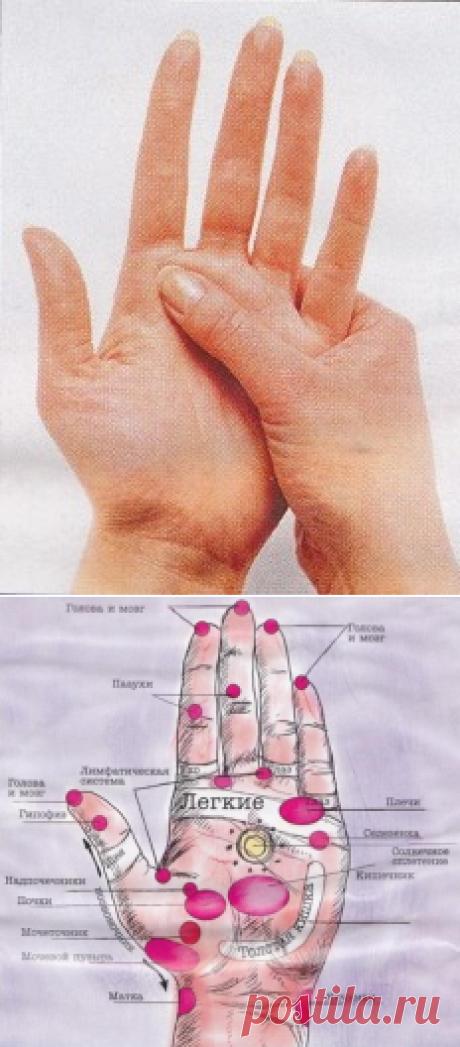 Как избавиться от боли с помощью массажа рук — 6 соток