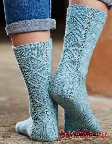 Вязаные носки «Retrospect»   ВЯЗАНЫЕ НОСКИ