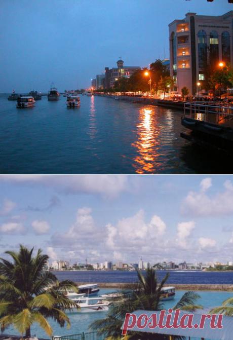 Мальдивские острова. Город Мале. История, особенности, достопримечательности. Фото Мале