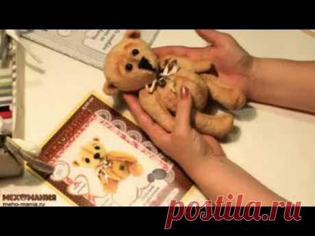Как сделать тонировку, оформить мордочку и украсить медвежонка