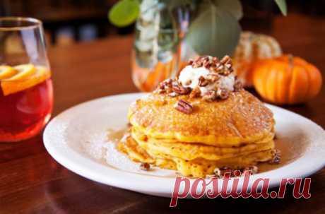 Оладьи из тыквы – 6 быстрых и вкусных рецепта