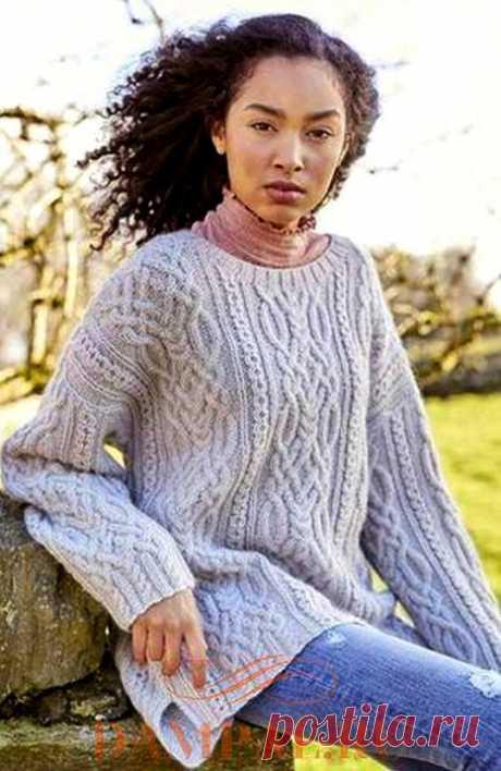 Женский вязаный свитер «Sykes».