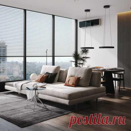 Дизайн проект квартиры 110м2 Автор проекта: Петро Илькив