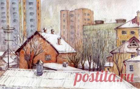 крыши домов рисунок– Google Поиск