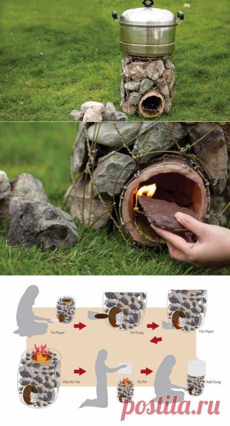 Печь каменка-очень просто.