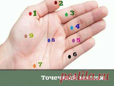 Press these points and in 5 minutes you will see what will occur!