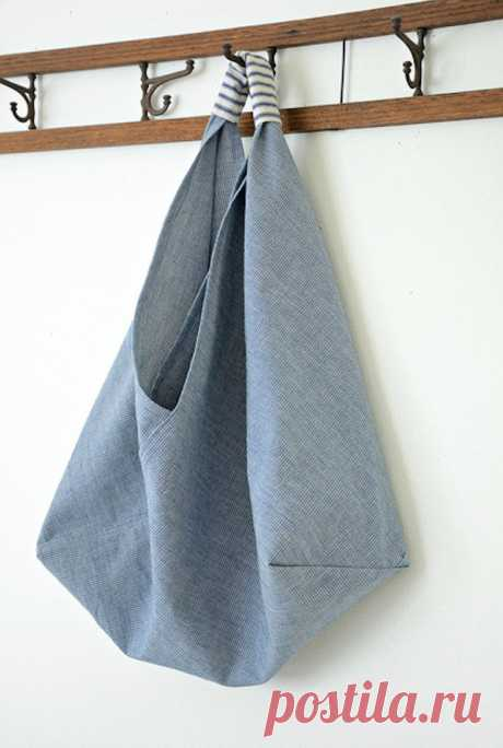 Как сшить сумку-торбу (пляжную) своими руками: выкройка с описанием.