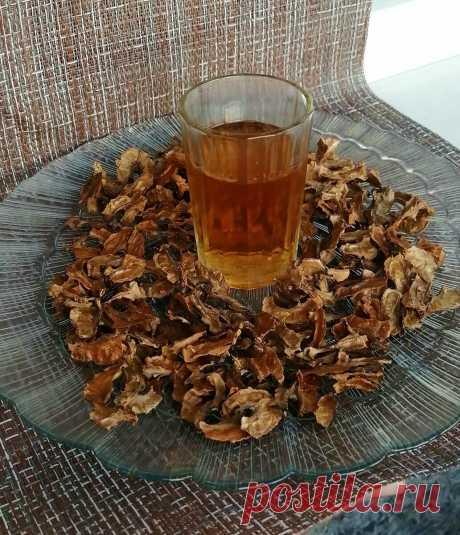 Настойка на перегородках грецких орехов. | Самогон ТВ | Яндекс Дзен