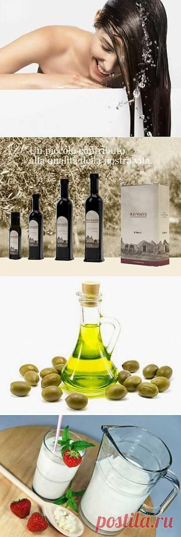 Оливковое масло для волос. Рецепты приготовления натурального шампуня в домашних условиях.
