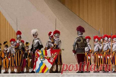 Почему Ватикан охраняют швейцарские гвардейцы - ТАЙНЫ ВСЕЛЕННОЙ - медиаплатформа МирТесен