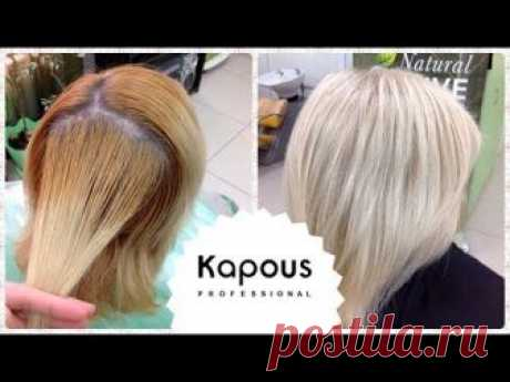 Staining BLOND. Kapus / Kapous Professional