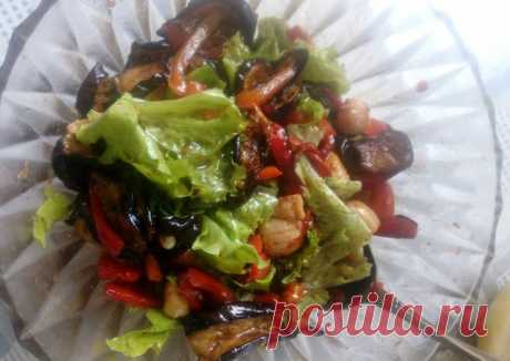 (1) Тёплый салат с морским гребешком - пошаговый рецепт с фото. Автор рецепта Елена Шипова (Лукьянова) 🌳 . - Cookpad