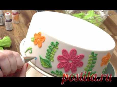 MAD PIPING SKILLS - Amazing Cake Decorating Compilation - CAKE STYLE