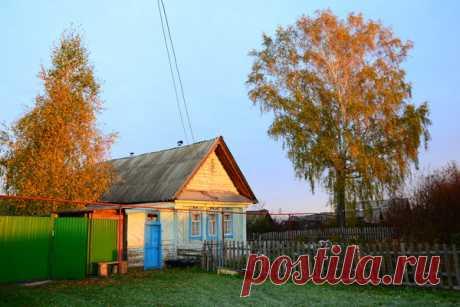Дом в деревне, природа, лес, рыбалка...