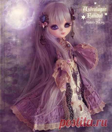 Японские куклы.