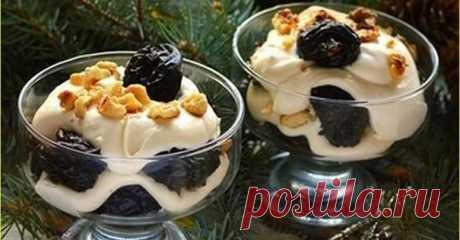 Чернослив, сметана и грецкий орех — идеальный десерт Помнится в первые годы, когда я начала делать этот десерт, он разлетался...