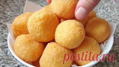 Сырные шарики - Лучший сайт кулинарии