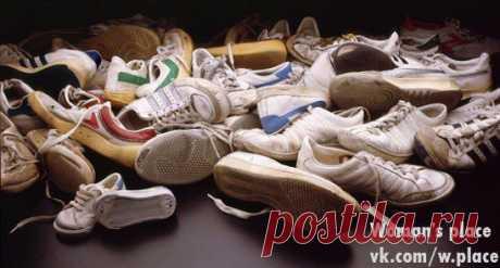 Полезности. Как убрать запах из обуви.