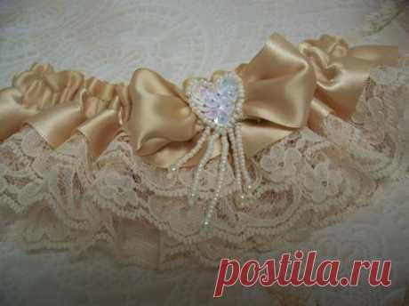 свадебная подвязка - Самое интересное в блогах