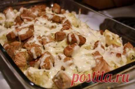 Как приготовить свинина с картошкой в духовке - рецепт, ингредиенты и фотографии
