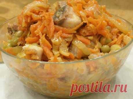Попробуйте, и Вы Обалдеете Как это Вкусно.Салат - Закуска из Селедки.Литовский салат.Herring Snack - YouTube