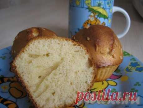 Кексы на сгущёнке - рецепт с фото