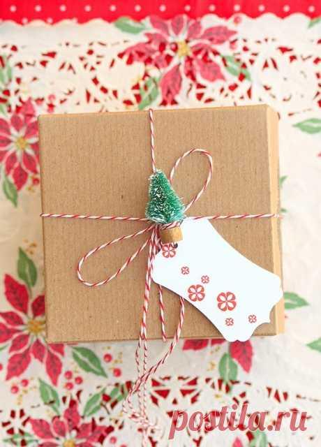 55 идей для упаковки новогодних подарков