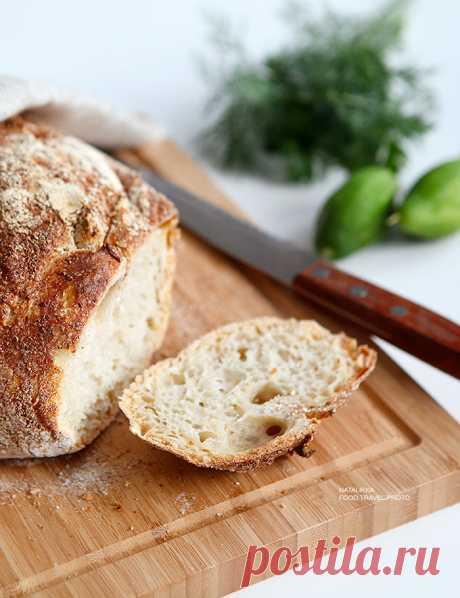 Хлеб из чугунной кастрюльки: минимум усилий и максимум эффекта! - Good things — LiveJournal