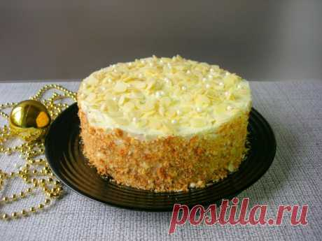 Торт «Пломбир» со вкусом мороженого — Кулинарная книга