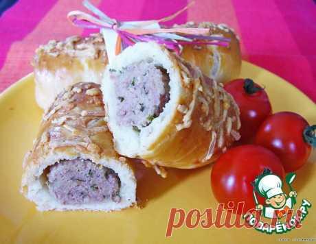 Брабантские хлебцы с домашними колбасками или Brabantse worstenbroodjes – кулинарный рецепт