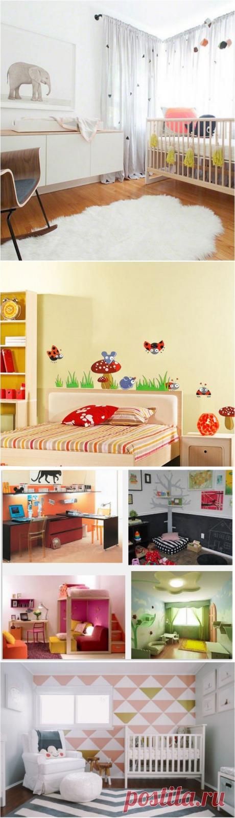 Современные идеи дизайна для детской комнаты