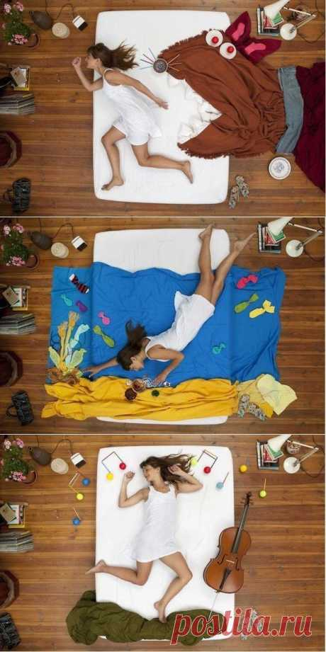 Классная фотосессия в кровати