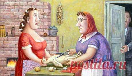 Иди женись, иди… Делай маму сиротой! Очень поучительная инструкция для мам сыновей. С юмором, но по делу.