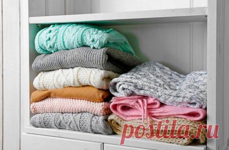 Какие правила в уходе за свитером нужно соблюдать, чтобы он был как новый