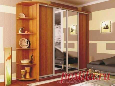 4-х дверный шкаф купе гардероб в спальню купить по цене 48 000 руб. в Москве— интернет магазин chudo-magazin.ru