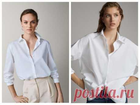 С чем носить белую рубашку (в 2021): 80+ стильных вариантов!